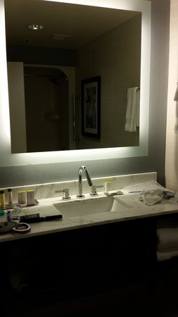 DoubleTree by Hilton Binghamton: the bathroom