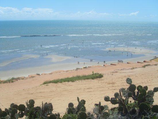 Pousada Tranquilandia Village : Vista da Praia