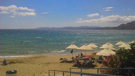 Pefkos Beach: beautiful