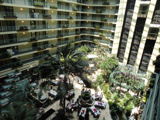 Embassy Suites by Hilton Minneapolis - Airport: Gorgeous atrium