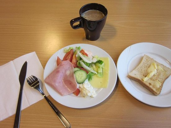 Montana Family & Youth Hostel : 朝食(私の)