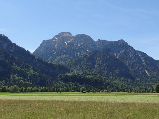 Bus Bavaria Neuschwanstein Castle Tours: View from the ground
