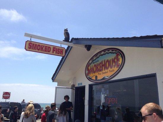 Ruddell's Smokehouse: Aussenanschicht im Juni 2014