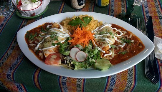 Manana: Burritos oaxacanos.