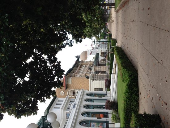 Hot Springs National Park: Magnolias and fantastic architecture along Bathhouse Row