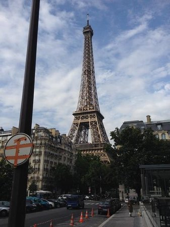 Hotel Sezz Paris : Sezz is in easy walking distance to the Eifel Tower.