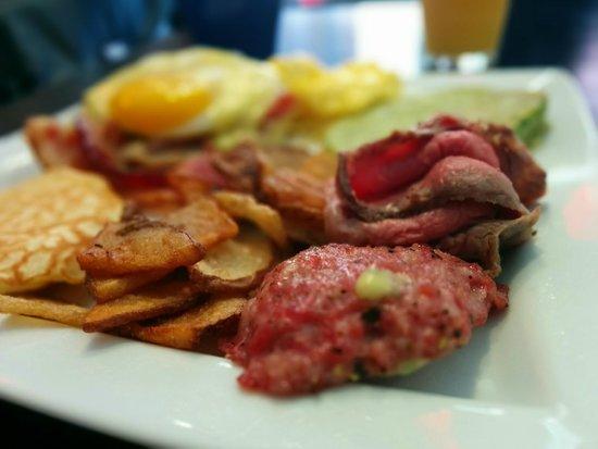Cafe Baci Breakfast Menu