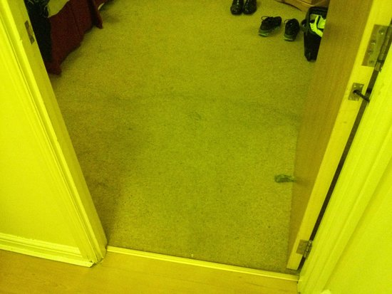 Lochend Serviced Apartments: Carpet needs to be changed