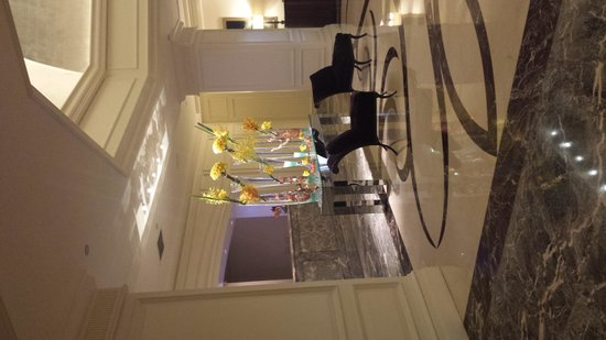 The Ritz-Carlton, Laguna Niguel : Lobby check-in