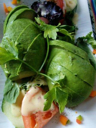 Manana: Avocado side order. Delicious!