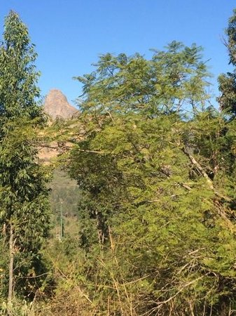 Mantenga Lodge : view from my varandah