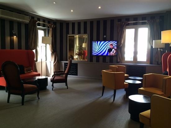 Hotel Brice : комната отдыха