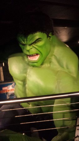 Madame Tussauds London : Marvel super heroes was absouletly brilliantt!!! )loved the 4d show