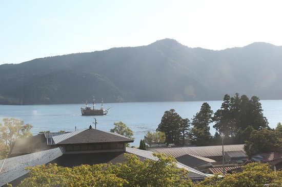 The Prince Hakone Lake Ashinoko: View from the attached shopping centre