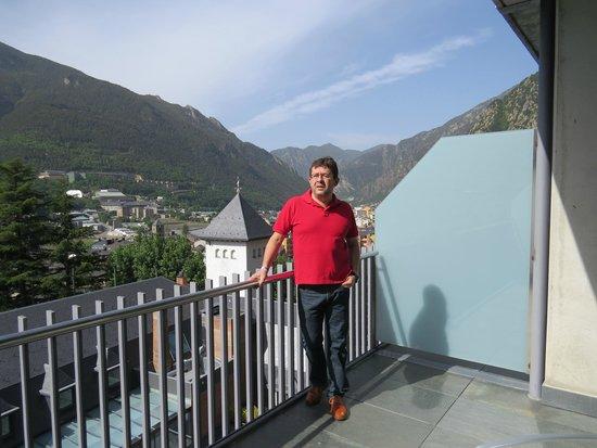 Andorra Park Hotel : La habitacion y sus vistas