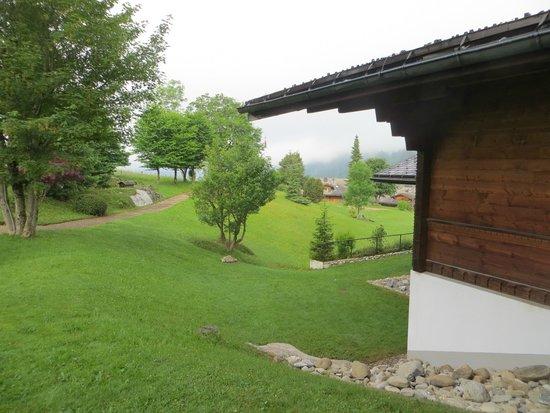 Steigenberger Alpenhotel and Spa: Zimmeraussicht