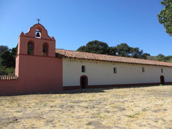 La Purisima State Historical Park : Outside the church