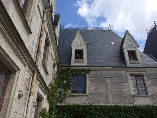 Le Chateau de Reignac : There we were if you can see us