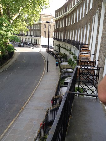 Studios2Let Serviced Apartments - Cartwright Gardens: View from the Balcony