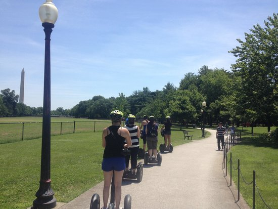 Bike and Roll DC: Segways are AWESOME