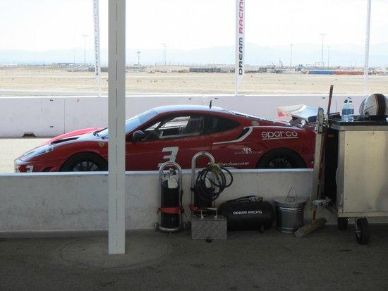 Dream Racing : Ferrari Challenge 430 Race Car in the Pit