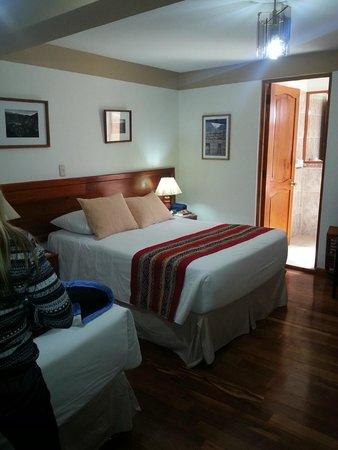Hotel Los Andes de América: Bedroom