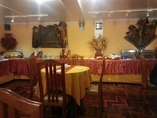 BEST WESTERN Los Andes De America : Breakfast area