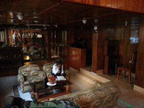 Hotel Los Andes de América: Reception area
