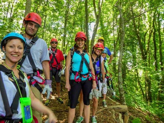 Navitat Canopy Adventures - Asheville Zipline: Blue Ridge Experience includes a 3600ft zip!