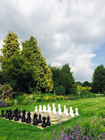 The Pear Tree at Purton: Games outside