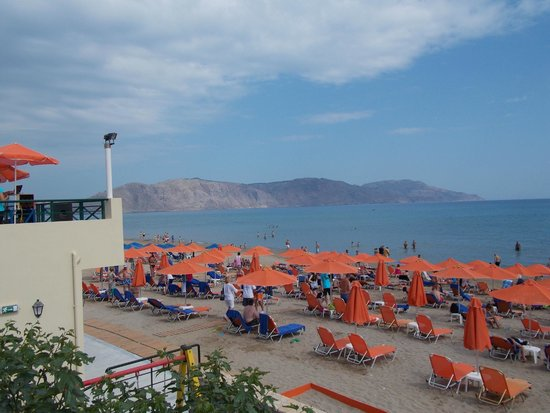 Eden Village Kournas : spiaggia