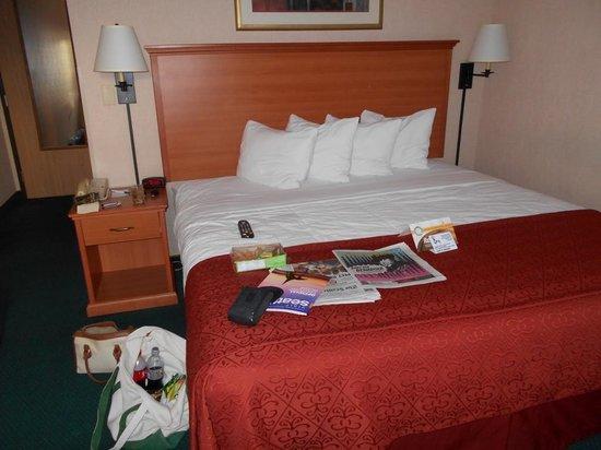 Quality Inn: Bed