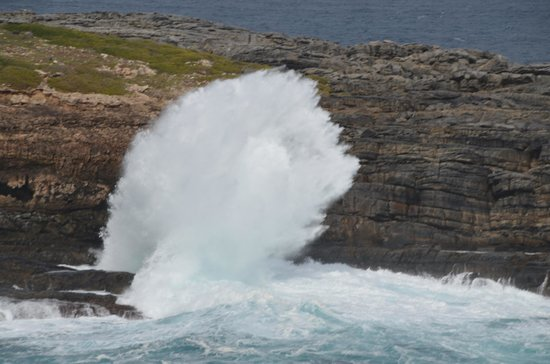 Southern Ocean Lodge: Love the forceful waves!