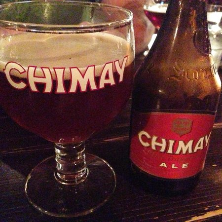 The Trappe door: Need to try a red chimay!