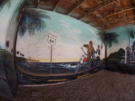 "Blue Swallow Motel: ""Easy Rider"" garage"