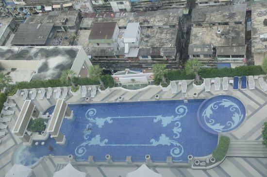 The Berkeley Hotel Pratunam: View from room
