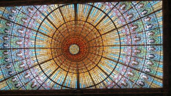 Palais de la Musique Catalane (Palau de la Musica Catalana) : Amazing sky light