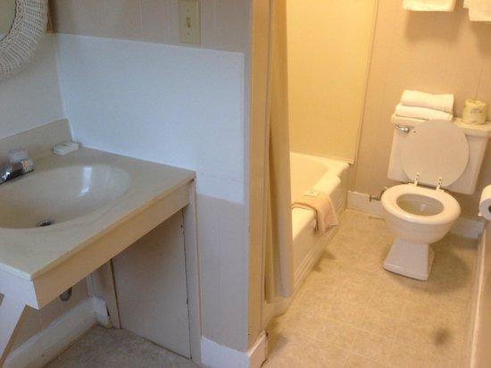 The Admiral Motel: Bathroom - so gross
