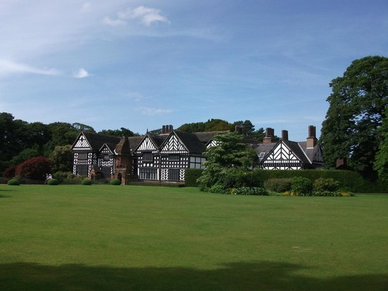 Speke Hall: From the back garden