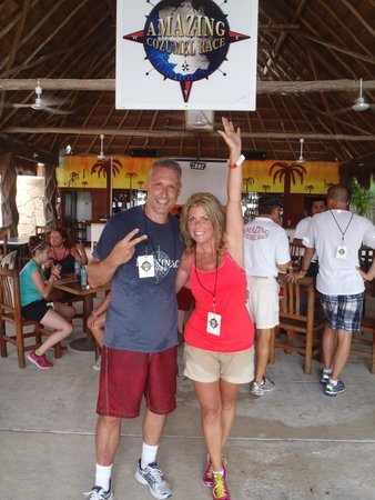 The Amazing Cozumel Race: We DID it!  2nd Place-Whoop Whoop!