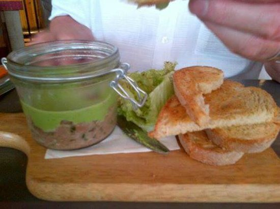 The Founder's Arms : the pate