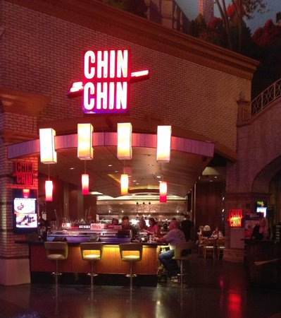Chin chin entrance picture of chin chin las vegas for Amaze asian fusion cuisine new york ny