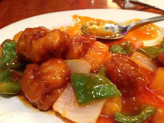Chin Chin : Sweet and Sour Pork