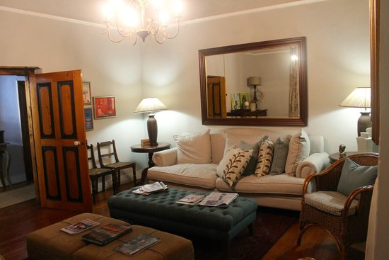 De Doornkraal Historic Country House Boutique Hotel: Private Lounge