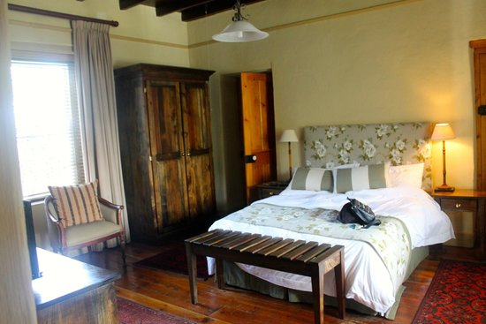 De Doornkraal Historic Country House Boutique Hotel: Bedroom of Suite