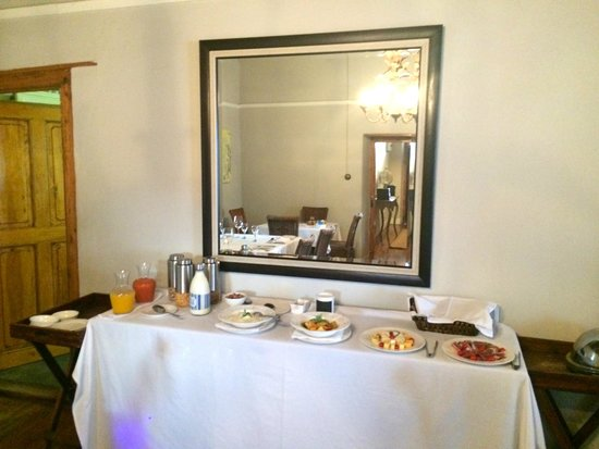 De Doornkraal Historic Country House Boutique Hotel: Breakfast Buffet