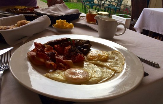 De Doornkraal Historic Country House Boutique Hotel: Full cooked breakfast