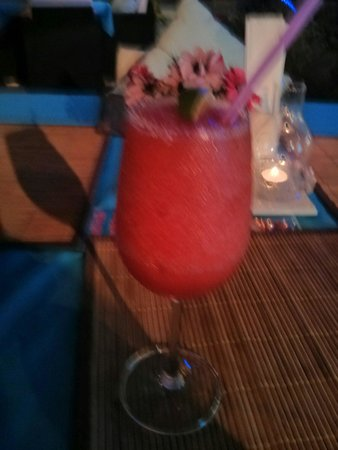 Hakan's Bar & Restaurant : Strawberry daiquiri. This is one of the only restaurants that doesn't skimp when making cocktail