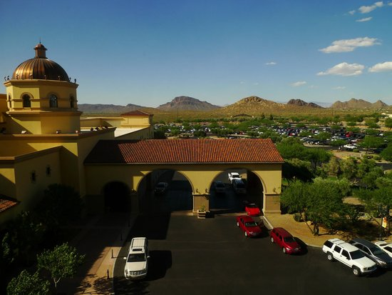 Casino Del Sol Resort: Casino del Sol__A View from Our Room__June2014