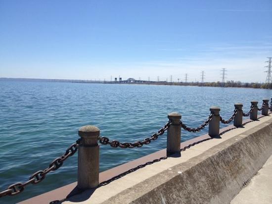 Burlington Waterfront Trail: waterfront downtown burly